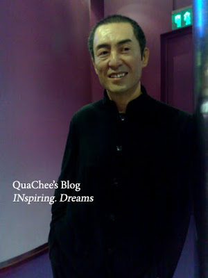 shanghai wax museum, zhang yimou