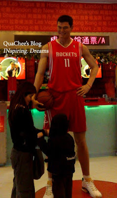 shanghai wax museum, yao ming