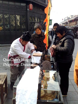 hangzhou, qinghefang road, food
