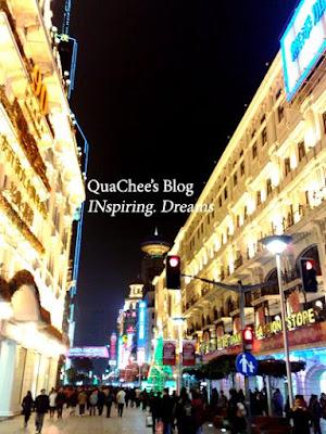 shanghai nanjing road, departmental store
