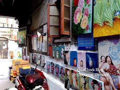 yuyuan garden bazaar, art painting