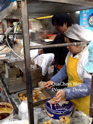 yuyuan garden bazaar, food, tofu