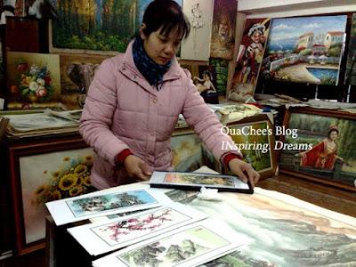 yuyuan garden bazaar, art shop