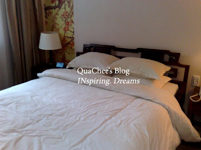 china budget hotel, hangzhou, starway hotel, room, bed
