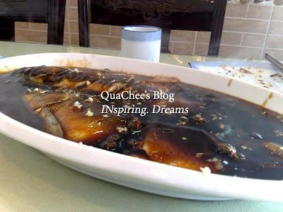 china food, hangzhou food, steam fish