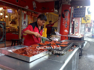 muar food, bak kwa