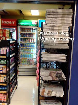summer holiday newstand