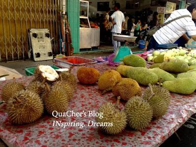gaya market durian