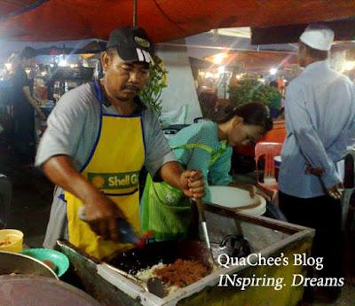 kk waterfront market nasi goreng