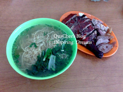 kk food duck noodles