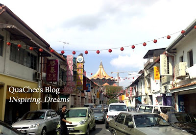 kuching chinatown