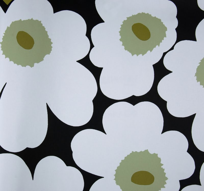 ideal carefully curated goods marimekko wallpaper from new wall inc. Black Bedroom Furniture Sets. Home Design Ideas