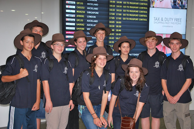 2010 Spirit of Anzac Prize students