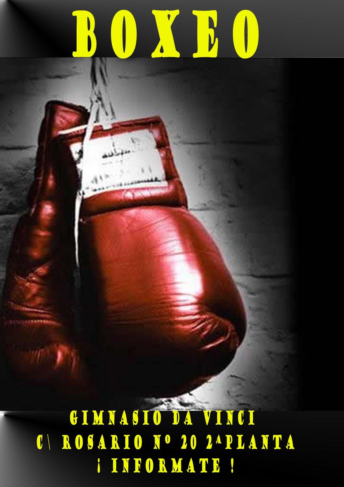Jueves 23 >> THAI & KICK BOXING JAVIER ROMERO: Nuevos horarios de Boxeo