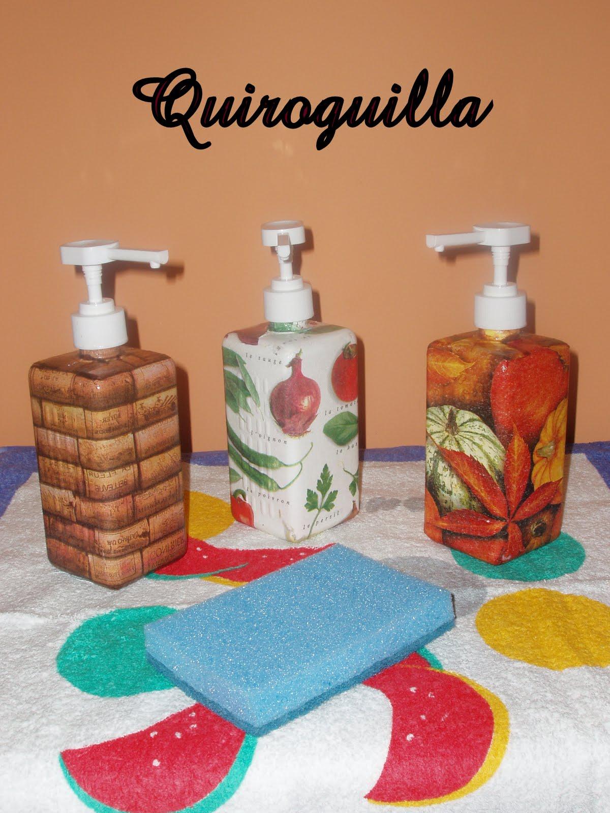 La Quiroguilla de moda: Dispensadores de jabón