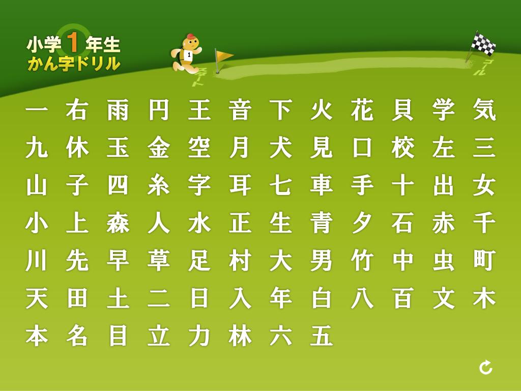 小学1年生かん字ドリル 小学 ... : 1年生で習う漢字 : 漢字