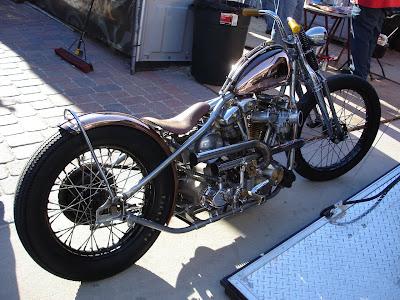 Rentmotorcycle Miami on Ami James  Miami Ink  Bobber Bike