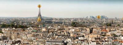 عکس پانورامای 26 گیگاپیکسلی از پاریس