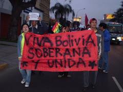 SOLIDARIDAD CON BOLIVIA