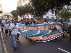 SOLIDARIDAD EN LIMA CON LUCHA AMAZONICA