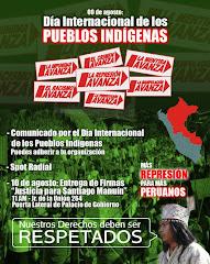 9 DE AGOSTO: DIA INTERNACIONAL DE LOS PUEBLOS INDIGENAS