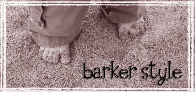 barker style