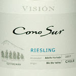 Cono Sur Vision Riesling 'Quiltranam' 2007