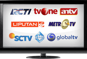 TV ONLINE RCTI, TRANS TV, SCTV, GLOBAL TV