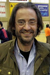 Imagen de Luismi López extraída de lomasbalonmano.com. Foto: Antonio Cañellas