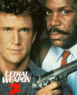 Lethal Weapon 2 Mel Gibson and Danny Glover