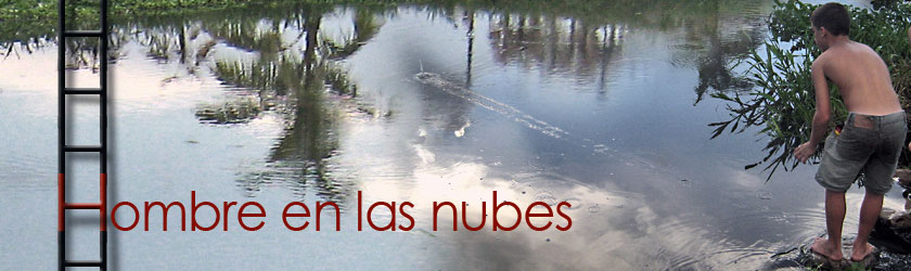 Hombre en las nubes