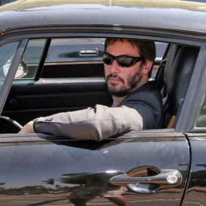 Keanu reeves Toyota celebrity grand prix
