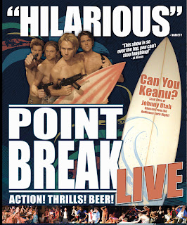 Keanu Reeves Point Break Live