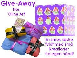 Give-Away her på bloggen