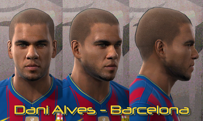 dani alves face pes 2010