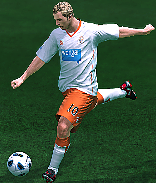 Pes 2010 Demo: Pes 2010 Blackpool 10-11 Kits By Rodriguinho • PESPatchs