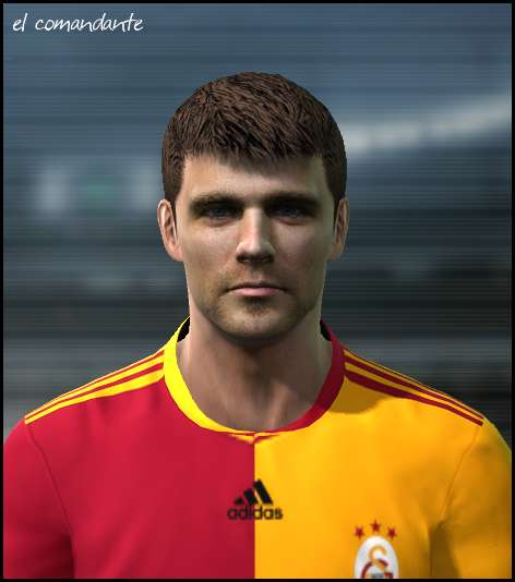 Ultigamerz Pes 2010 Pes 2011 Face: Pes 2011 Misimovic Face By El Comandante • PESPatchs