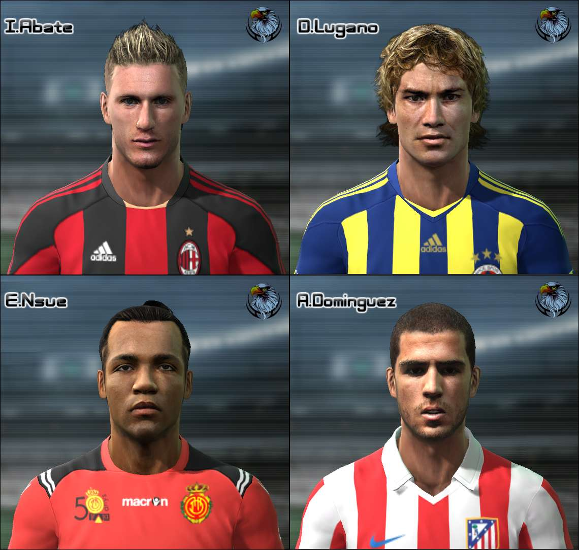 Ultigamerz Pes 2010 Pes 2011 Face: PES 2011 Mini Face Pack By Nickless Vol.2 • PESPatchs