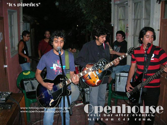 LOS PIPEÑOS en vivo  feb 08'