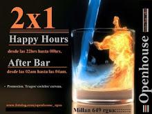 2x1 HAPPY BARRA desde las 21hrs