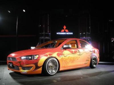 Auto Cheap Insurance Racing on Mitsubishi And Nissan Modification In Tokyo Auto Salon 2008