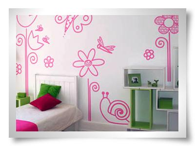 Artes pelas minhas m os 30 09 2010 for Paredes decoradas con pintura