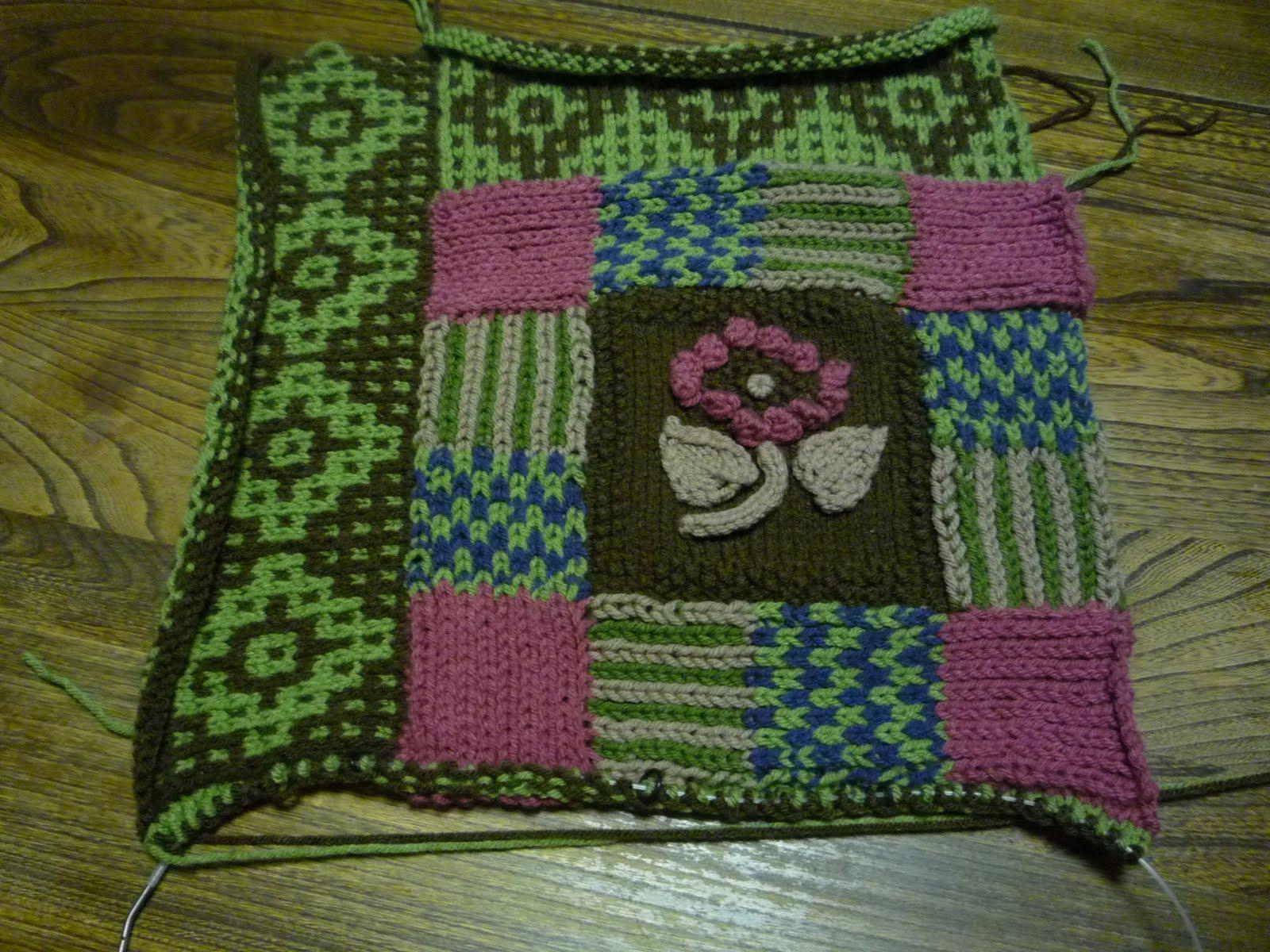Mosaic Knitting Stitches Patterns : Wildflower Wool Knits: Mosaic Knitting