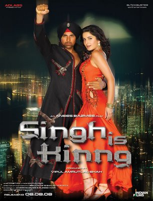 Singh Is King (2008) Movie Poster