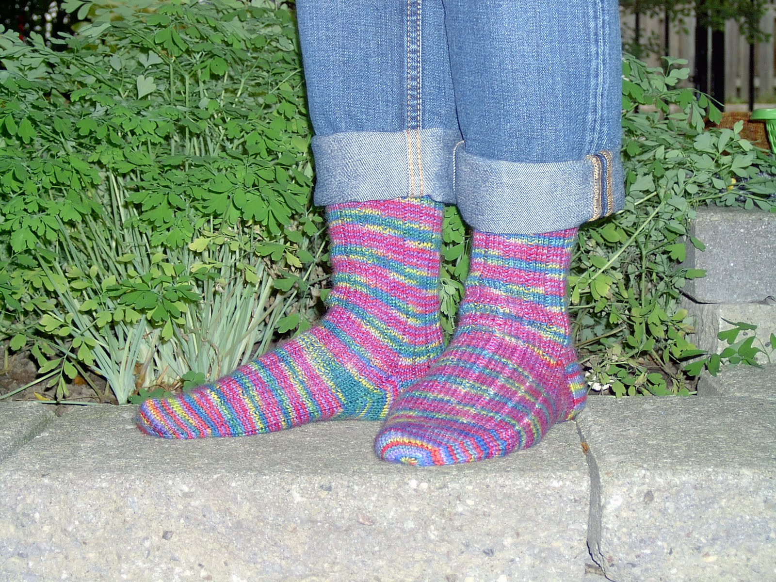 Kate atherley knits a lot mainly socks by popular demand the spun site has gone so by popular demand here is my basic ribbed sock pattern bankloansurffo Gallery