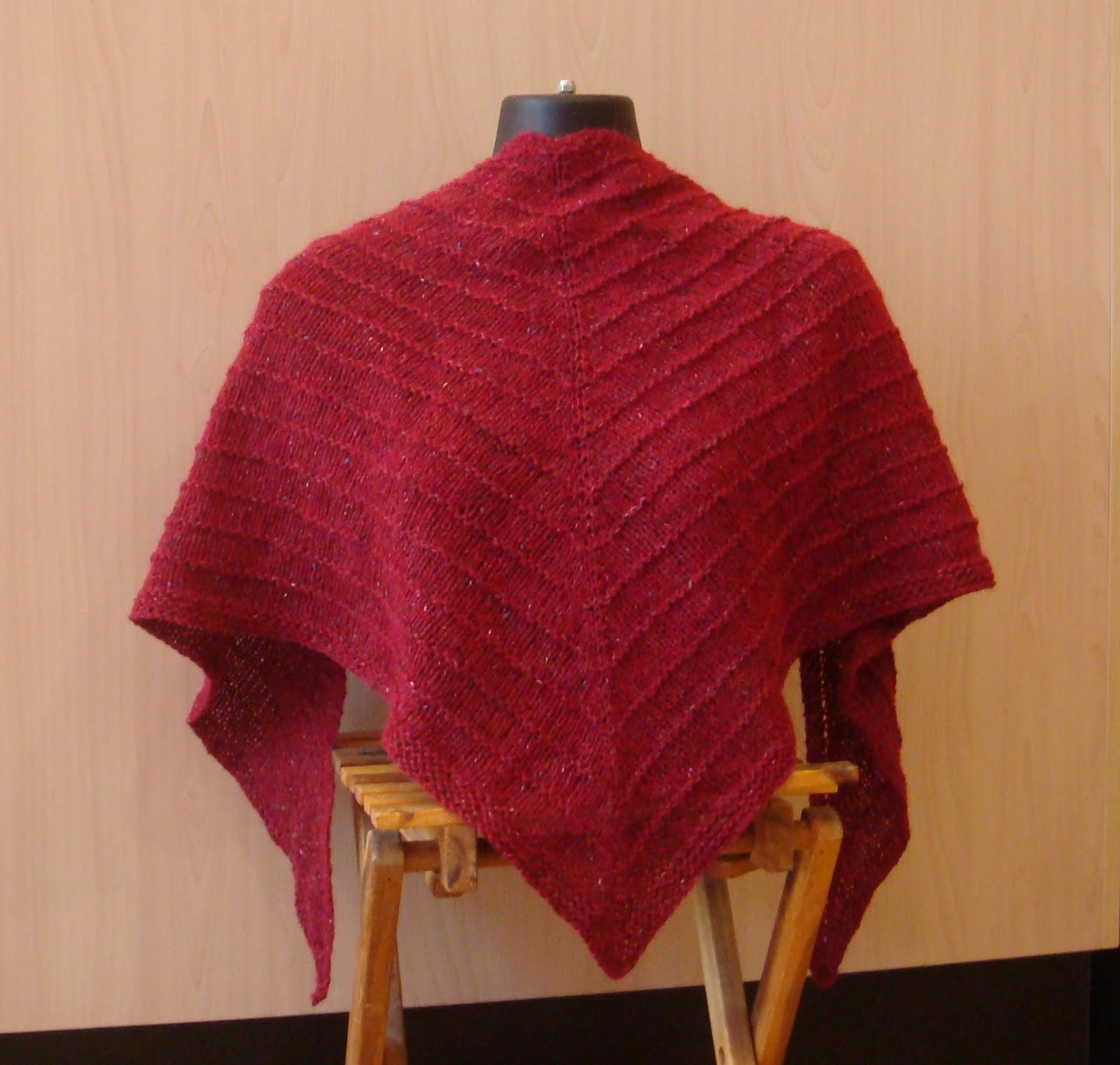 Easy Shawl Knitting Patterns Free Best Inspiration