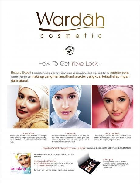 Wardah Halal Cosmetic (Wardah Singapore) distribute by Fadhilah Network