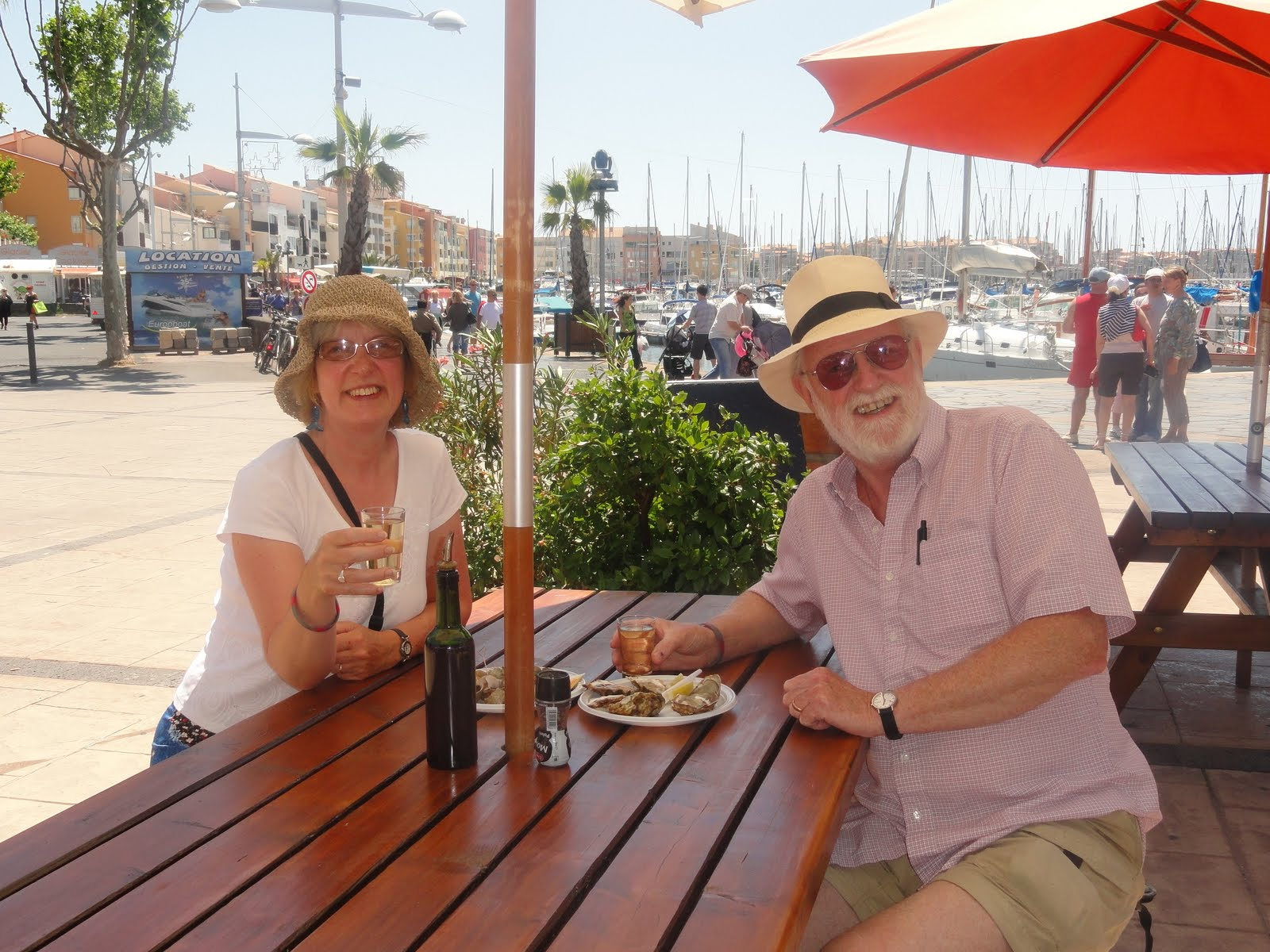 We Arrived Here Last Saturday Via Sete A Port On The South Coast Famous For The Seafood And Enjoyed A Wonderful Plate Of Oysters And Langoustines While