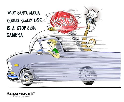 STOP SIGN CAMERA