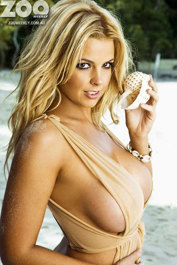 MANNY RAMIREZ: Rachel Burr Playboy Model Of ZOO Magazine
